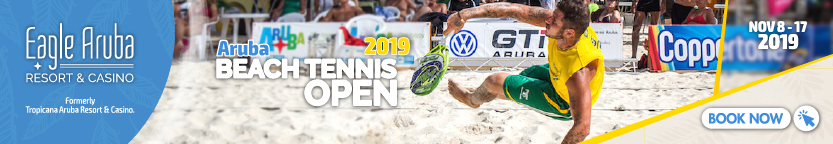 Accommodation Aruba Beach Tennis Open 2019